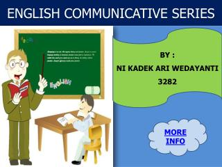 ENGLISH COMMUNICATIVE SERIES