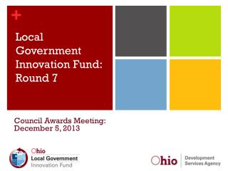 Local Government Innovation Fund: Round 7