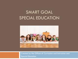 SMART GOAL Special Education