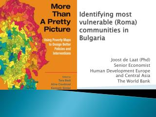 Identifying most vulnerable (Roma) communities in  Bulgaria