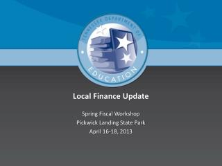 Local Finance Update