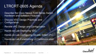 LTRCRT-2605 Agenda