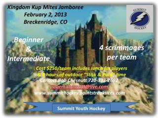 Kingdom  Kup  Mites Jamboree February 2, 2013 Breckenridge, CO