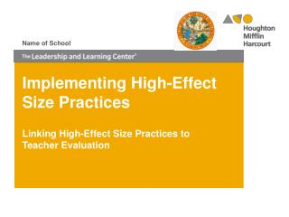 Implementing High-Effect Size Practices