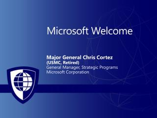 Microsoft Welcome