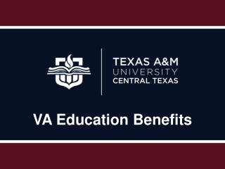 VA Education Benefits
