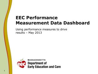 EEC Performance Measurement Data Dashboard