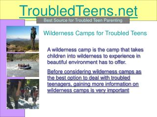 How to Find Best Wilderness Programs for Troubled Teenagers