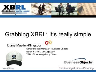 Grabbing XBRL: It's really simple