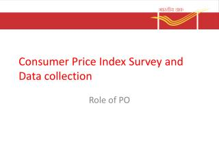 Consumer Price Index Survey and Data collection