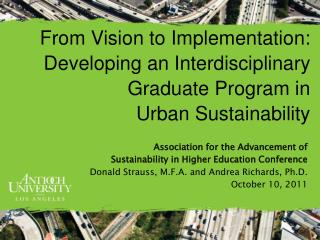 Association for the Advancement of  Sustainability in Higher Education Conference