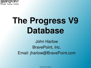 The Progress V9 Database