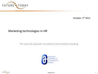 Marketing technologies in HR