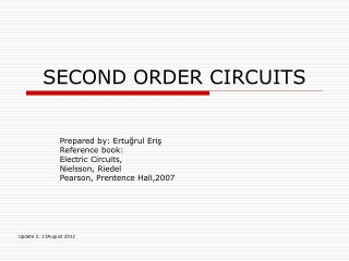 SECOND ORDER CIRCUITS