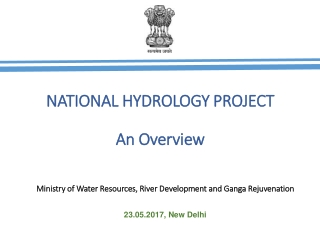 NATIONAL HYDROLOGY PROJECT An Overview