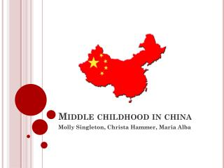 Middle childhood in china