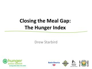 Closing the Meal Gap: The Hunger Index