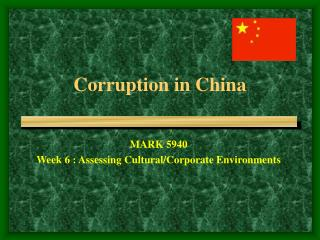 Corruption in China