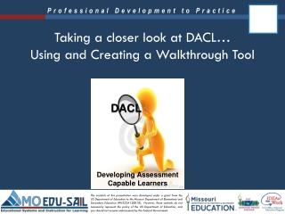 Taking a closer look at DACL… Using and Creating a Walkthrough Tool