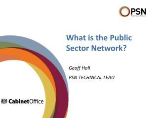 What is the Public Sector Network?