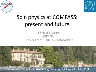 Spin physics at COMPASS: present and future