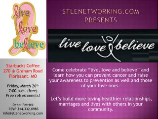 Stlenetworking  presents