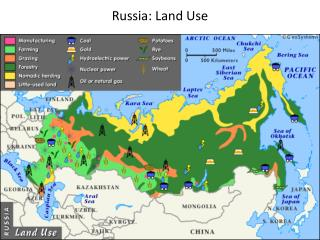 Russia: Land Use