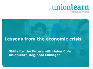 Lessons from the economic crisis