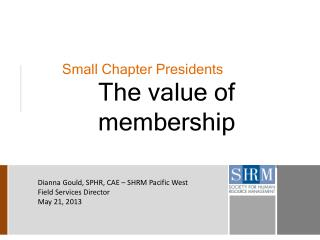 Small Chapter Presidents