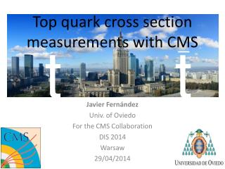 Top quark cross section measurements with CMS
