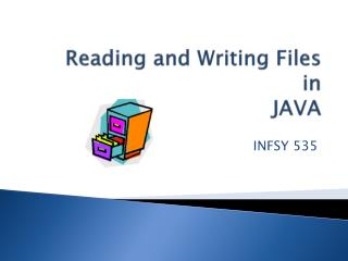 Reading and Writing  Files in JAVA