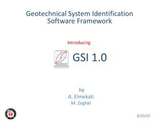 GSI 1.0