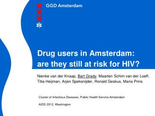 Drug users in Amsterdam:  are they still at risk for HIV?