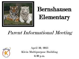 Parent Informational Meeting