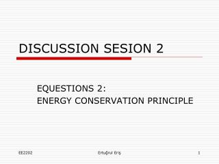 DISCUSSION SESION 2