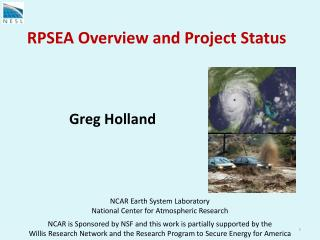 RPSEA Overview and Project Status