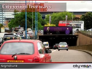 City vision  five ways