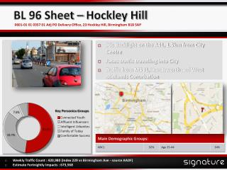 BL 96 Sheet – Hockley Hill
