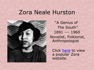 Their Eyes Were Watching God: Summary and Overview of  Zora Neale Hurston s Novel