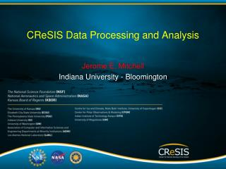 CReSIS  Data Processing and Analysis