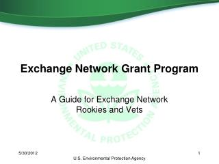 Exchange Network Grant Program