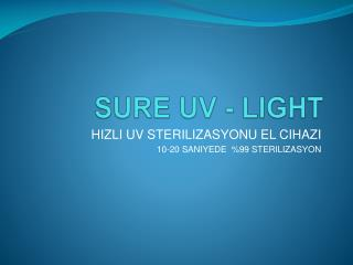 SURE UV - LIGHT