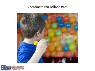 Coordinate Pair Balloon Pop!