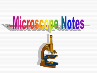 Microscope Notes