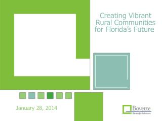 Creating Vibrant Rural Communities for Florida's Future