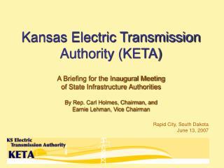 Kansas Electric Transmission Authority (KETA)