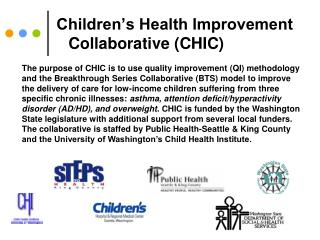 Children s Health Improvement Collaborative CHIC