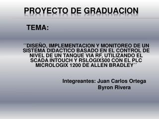 PROYECTO DE GRADUACION