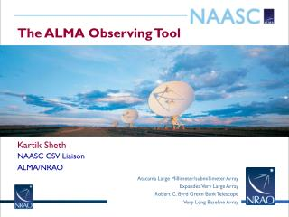 The ALMA Observing Tool