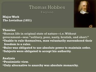 thomas hobbes ideas on monarchy essay Thomas hobbes and john locke were two of the great biased political theorists of their time (enlightenment ear) both created great philosophical texts that help to portray the role of government in a man's life, as well as their vision of man's state of nature.